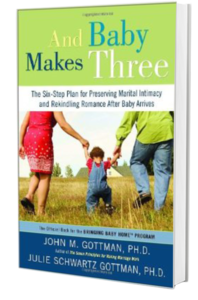 At Amazon: And Baby Makes Three, by John Gottman (affiliate link)