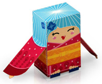 Free printable folded paper toys