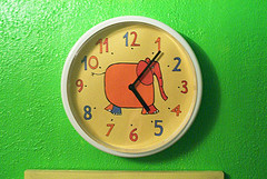 Make your own decorated wall clock
