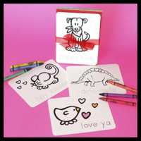 Color 'n Kids Valentines