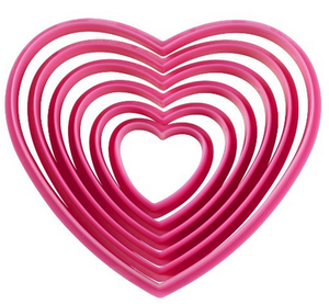 Valentine hack: Heart-shaped cookie cutters are useful for more than cookies