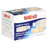 Instead of expensive character Band-Aids, decorate plain bandages with stickers