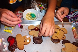 "Personalized gingerbread ""friends"" make popular gifts"