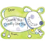 Helping young kids get involved in writing thank you notes