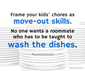 Chores for Older Kids: Hold Them Accountable