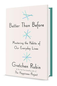 Book Love: Better Than Before by Gretchen Rubin