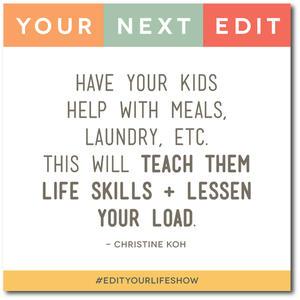 Edit Your Life Episode 2: Your Next Edit (Christine) #EditYourLifeShow