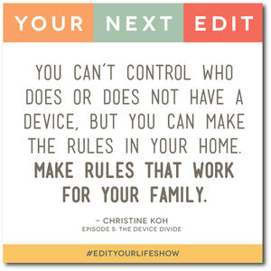 Episode 5: Your Next Edit (Christine) #edityourlifeshow