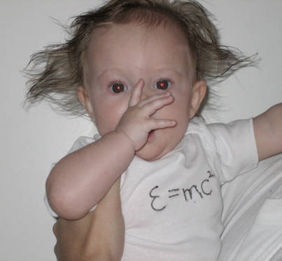 Baby Einstein costume. Photo credit: Sara Carlstead Brumfield #parenthacks