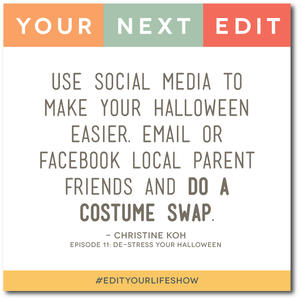De-Stress Your Halloween: Your Next Edit (Christine) #EditYourLifeShow