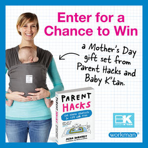 Win a Mother's Day Gift Set from Parent Hacks + Baby K'Tan