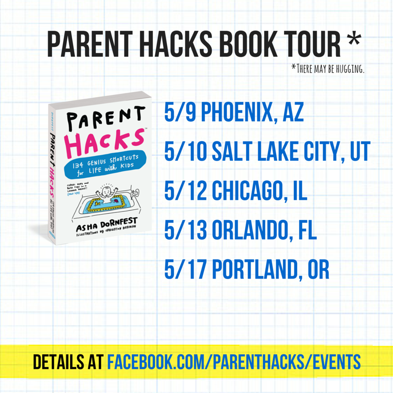 #ParentHacks Book Tour