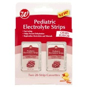 Pediatric electrolyte strips
