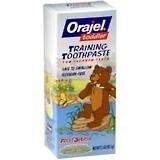 Orajel training toothpaste