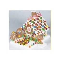 Amazon Gold Box today only: Deluxe gingerbread house kit 60% off