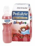Pedialyte Singles + bendy straw = more drinking and fewer spills