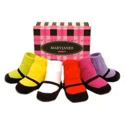 Amazon deal: Trumpette Mary Jane baby socks 53% off