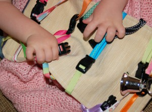 DIY Clipping Toy: Road Trip Sanity with a Toddler