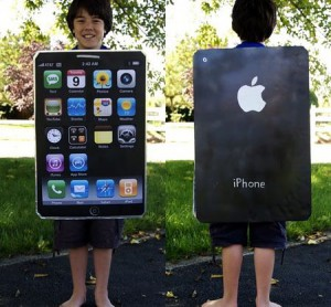 iPhone Halloween Costume