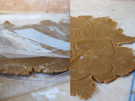 Roll cookie dough in a Ziploc