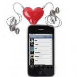 Amazon: Tunes for Two Heart-Shaped Splitter