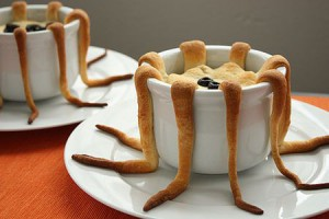 Halloween dinner: Tentacle Pot Pie