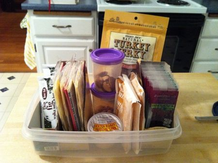 Make your own snack organizers