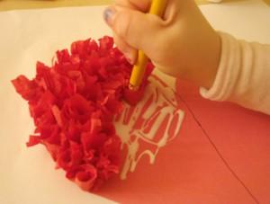 Easy, lovely rosebud valentines