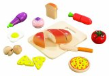 Amazon: Educo Gourmet Chef Cuisine Wooden Play Set