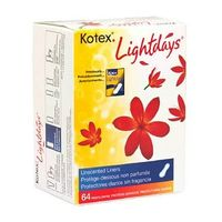 Amazon: Kotex Lightdays Liners, Package of 64