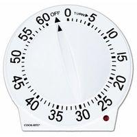 Amazon: Cook-Rite 60-Minute Quartz Timer, White