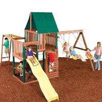 Amazon: Swing - N - Slide Chesapeake Wood Complete Ready - To Assemble Swing Set Kit