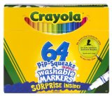 Amazon: Crayola 12ct Washable Markers