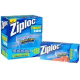 Amazon: Ziploc Double Zipper Freezer Gallon Bags - Total: 152 Bags (4 X 38 ct.)