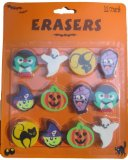 Non-candy treat: Halloween-themed erasers