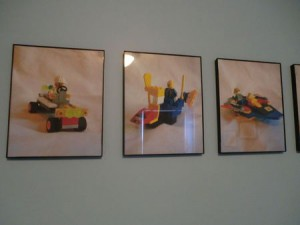 """Save"" Lego creations in digital photos as wall art"