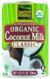 Amazon: Native Forest Organic Classic Coconut Milk, 13.5-Ounce Cans (Pack of 12)