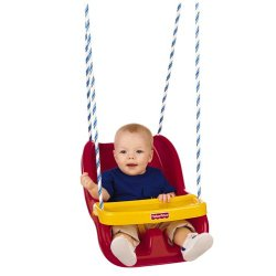 Amazon: Fisher-Price Infant To Toddler Swing (Red)