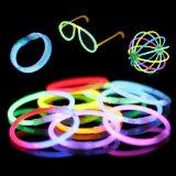 No-effort entertainment: Glow sticks