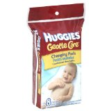 Amazon: Huggies Disposable Changing Pads - 8 count