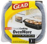 Amazon: Glad SimplyCooking OvenWare 8x8, 3-Count Packages (Pack of 6)