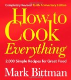 Amazon: How to Cook Everything, Completely Revised 10th Anniversary Edition: 2,000 Simple Recipes for Great Food (Book)