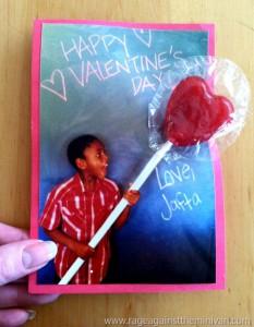 """Lollipop illusion"" photo Valentines"