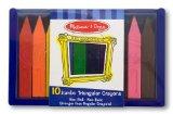Amazon: Melissa & Doug Jumbo Triangular Crayons