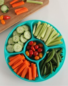 Make healthy snacks easier with a vegetable tray