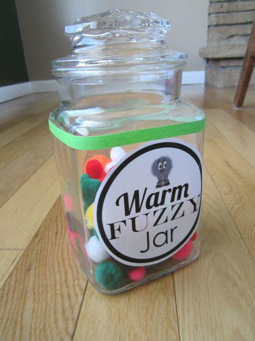 Melissa's Warm Fuzzy Jar