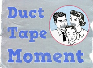 Fantastic new book released today: Duct Tape Parenting