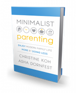 Big news: Minimalist Parenting now available for pre-order!