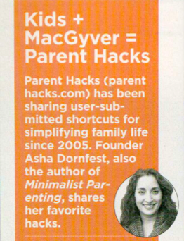 In the March 2013 issue of Parenting Magazine