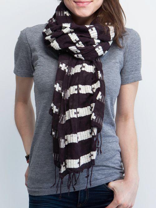 FashionABLE + ONEMoms scarf: GENET